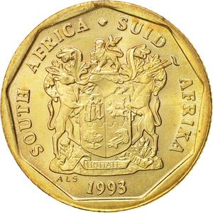 South Africa / Twenty Cents - obverse photo