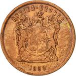 South Africa / Five Cents 1999 - obverse photo