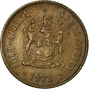 South Africa / One Cent 1973 - obverse photo