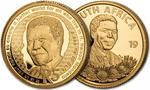 South Africa / Gold Tenth-Ounce 2019 Nelson Mandela - obverse photo