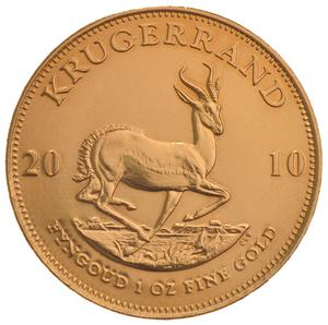 South Africa / Gold Ounce 2010 Krugerrand - reverse photo
