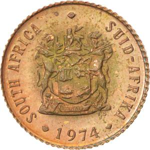 South Africa / Half Cent - obverse photo