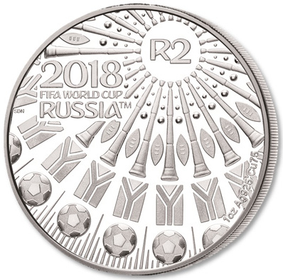 Silver Crown 2018 FIFA World Cup: Photo Silver Crown 2018 FIFA World Cup