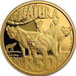 South Africa / Gold Half Ounce 2016 Hyena - reverse photo