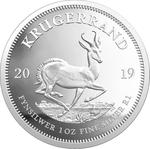 South Africa / Silver Ounce 2019 Krugerrand / Proof - reverse photo