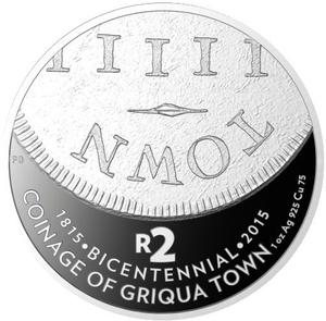 South Africa / Silver Crown 2015 Griqua Town - Lower - reverse photo