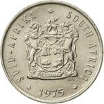 South Africa / Five Cents 1975 - obverse photo