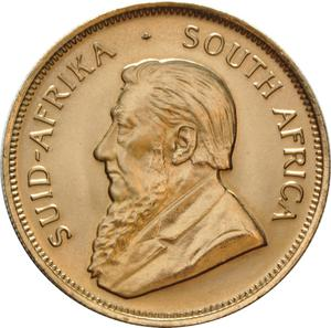 South Africa / Gold Half Ounce 1985 Krugerrand - obverse photo