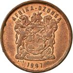 South Africa / Five Cents 1997 - obverse photo