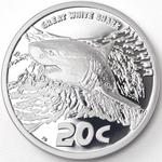 South Africa / Silver Ounce 2016 White Shark - reverse photo