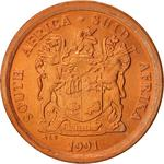 South Africa / Five Cents 1991 - obverse photo