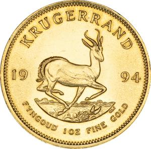 South Africa / Gold Ounce 1994 Krugerrand - reverse photo