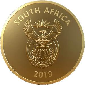 South Africa / Gold Ounce 2019 Constitutional Court - obverse photo