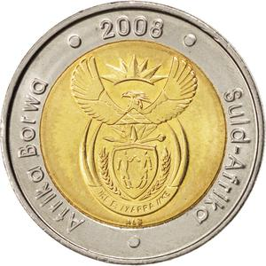 South Africa / Five Rand 2008 Nelson Mandela - obverse photo