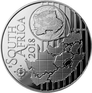 South Africa / Silver Ounce 2018 UNESCO - Kudu - obverse photo