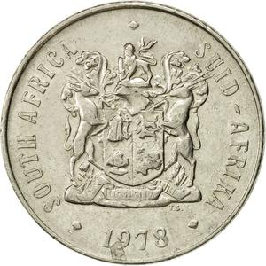 South Africa / Fifty Cents 1978 - obverse photo