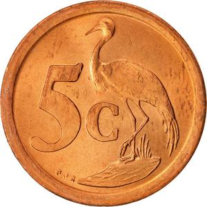 South Africa / Five Cents - reverse photo