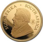 South Africa / Gold Ounce 2010 Krugerrand / Proof with Berlin privy mark - obverse photo