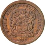 South Africa / Five Cents 1994 - obverse photo