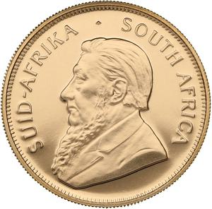 South Africa / Gold Half Ounce 1990 Krugerrand - obverse photo