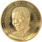 South Africa / Gold Tenth-Ounce 2019 Nelson Mandela - reverse photo
