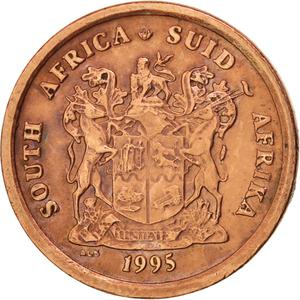 South Africa / One Cent 1995 - obverse photo