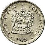 South Africa / Five Cents 1973 - obverse photo