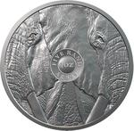 South Africa / Silver Ounce 2019 Big Five - Elephant - reverse photo