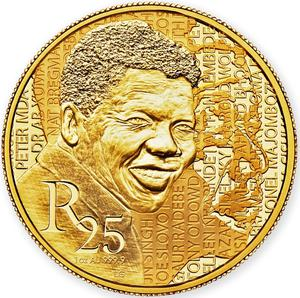 South Africa / Gold Ounce 2015 Mandela - Early Years - reverse photo