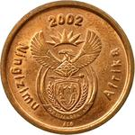 South Africa / Five Cents 2002 - obverse photo