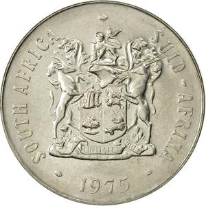 South Africa / Fifty Cents 1975 - obverse photo