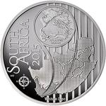 South Africa / Silver Ounce 2015 KBR - Land - obverse photo
