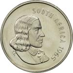 South Africa / Five Cents 1965 (English) - obverse photo