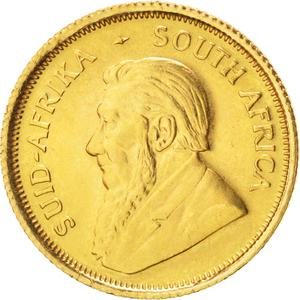 South Africa / Gold Tenth-Ounce 1980 Krugerrand - obverse photo