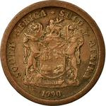 South Africa / Five Cents 1990 - obverse photo