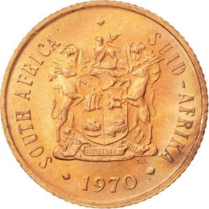 South Africa / Two Cents 1970 - obverse photo