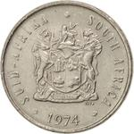 South Africa / Five Cents 1974 - obverse photo