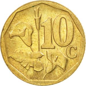 South Africa / Ten Cents 2005 - reverse photo