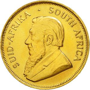 South Africa / Gold Half Ounce 1980 Krugerrand - obverse photo