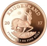 South Africa / Gold Ounce 2017 Krugerrand - reverse photo