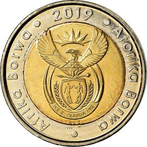 South Africa / Five Rand 2019 Constitutional Democracy