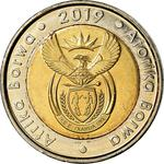 South Africa / Five Rand 2019 Constitutional Democracy - obverse photo