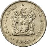 South Africa / Five Cents 1983 - obverse photo
