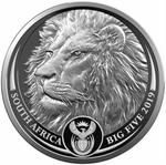 South Africa / Silver Ounce 2019 Big Five - Lion - obverse photo