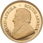 South Africa / Gold Tenth-Ounce 2002 Krugerrand / Proof - obverse photo