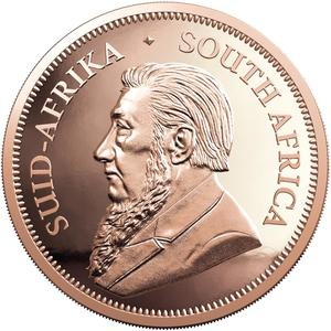 South Africa / Gold Two Ounces 2020 Krugerrand - obverse photo