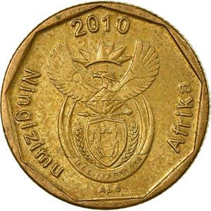 South Africa / Twenty Cents 2010 - obverse photo