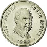 South Africa / Five Cents 1982 Vorster - obverse photo
