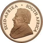South Africa / Gold Ounce 2008 Krugerrand / Proof 110th anniversary of KNP - obverse photo