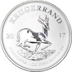 South Africa / Silver Ounce 2017 Krugerrand - reverse photo